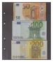 Ersatzblatt G23E dreigeteilt für Banknoten, passend in Doppel-FD