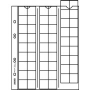 Lindner Multi collect Münzblätter Nr. MU 54 per 5 Stück