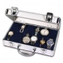 Safe Edler Alu-Koffer für Uhren, Schmuck usw. Nr. 265
