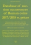 Mortensen, Morte Eske Database of auction prices of Roman coins