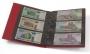 Kobra Banknotenalbum G23 Farbe rot mit 10 Blättern für 30 Bankno