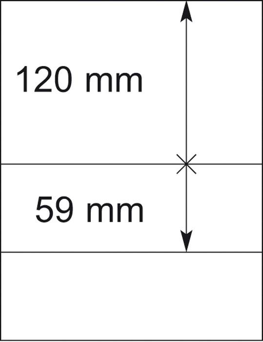 Lindner T-Blankoblatt 802206P per 10 Stück