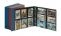Lindner Postkarten-Album groß, leer Nr. 3000 weinrot