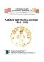 Von Garnier/Zirz Katalog der Franco-Stempel 1864 bis 1880