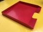 Ablagekorb rot fast quadratisch Format 30x29x3cm