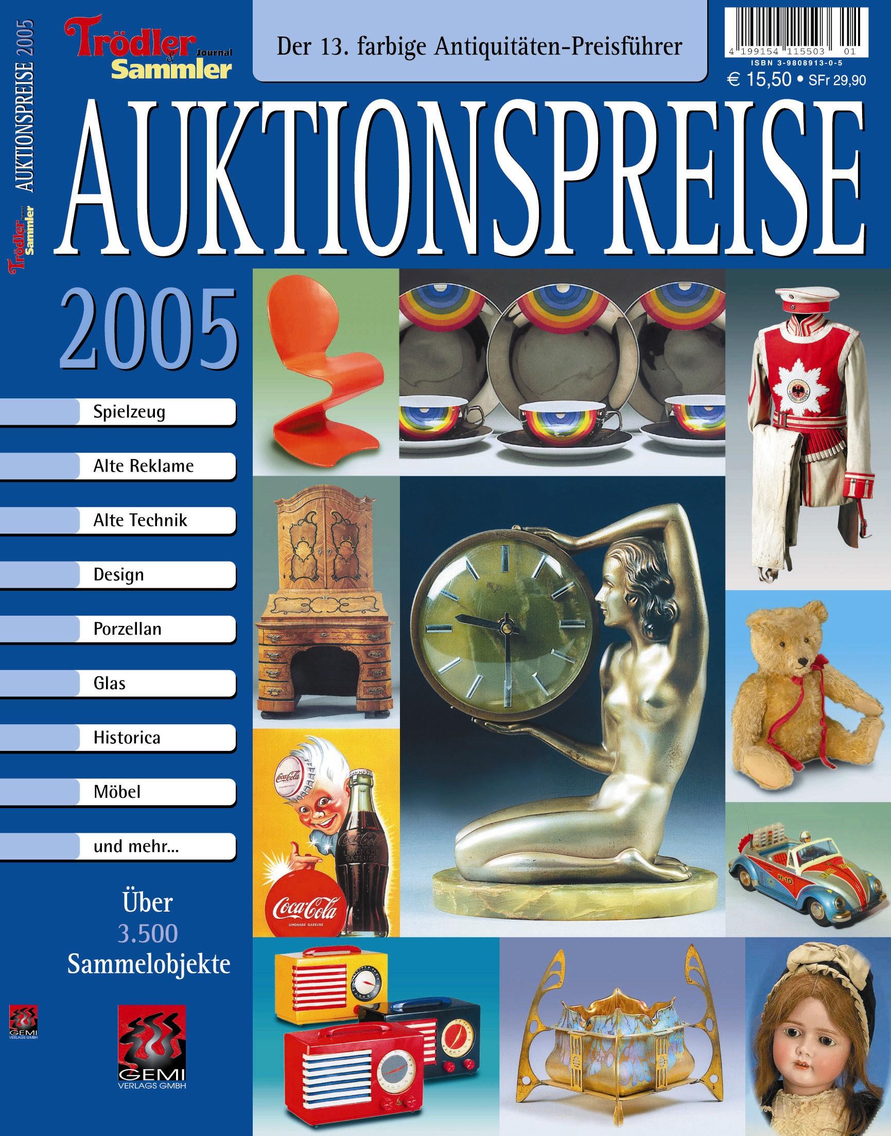 Auktionspreise 2005 13. Antiquitätenführer
