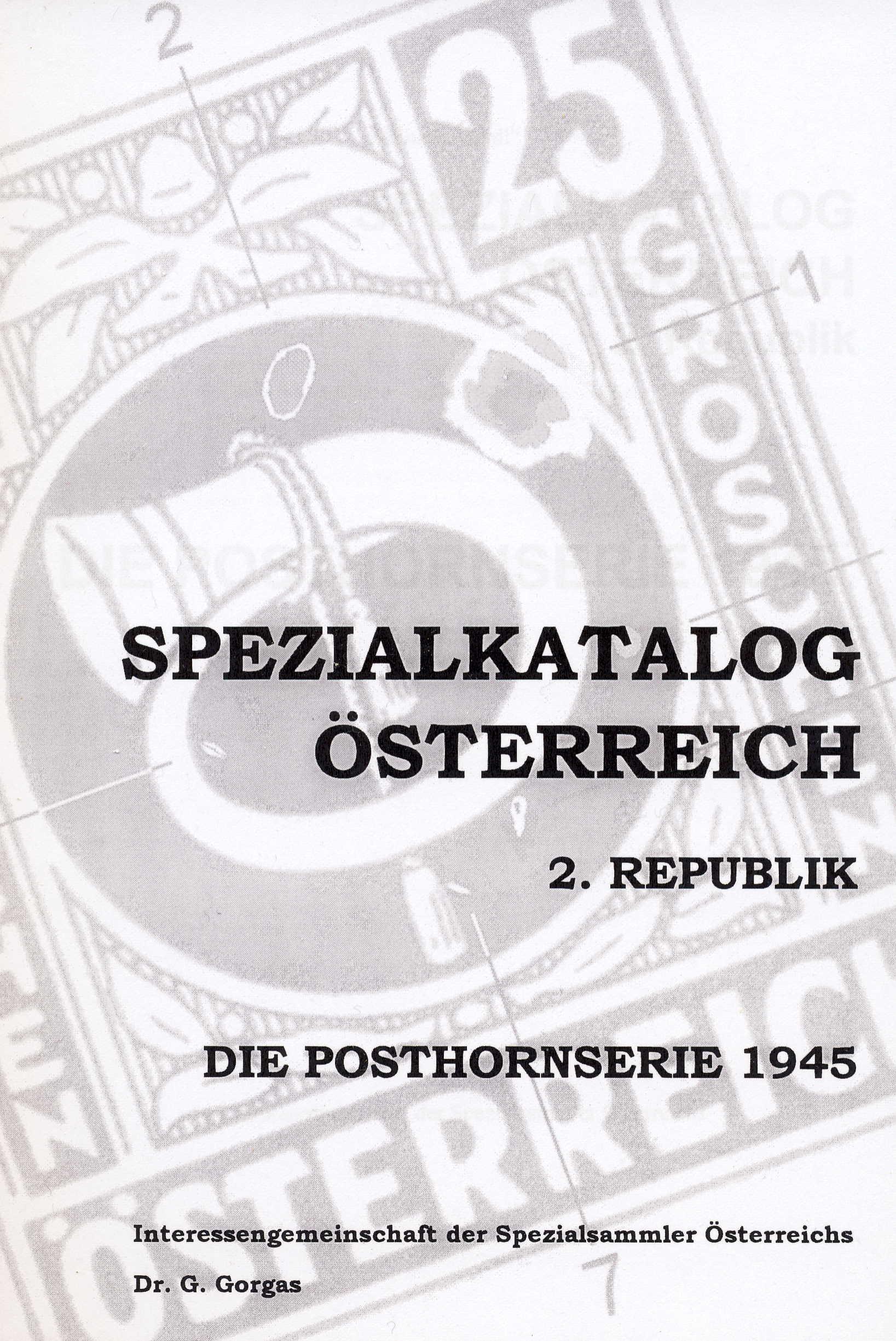 GINDL-Plattenfehler-Spezialkatalog ÖSTERREICH 2. Republik Die Po
