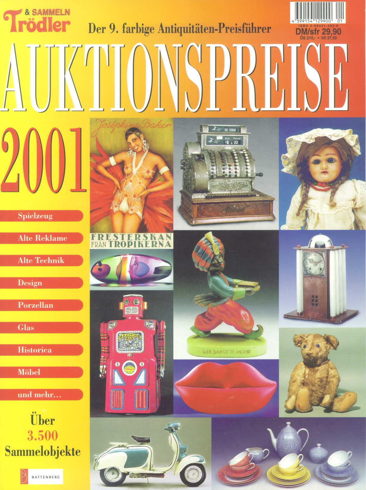 Auktionspreise 2001 9. Antiquitätenführer