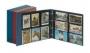 Lindner Postkarten-Album groß, leer Nr. 3000 blau