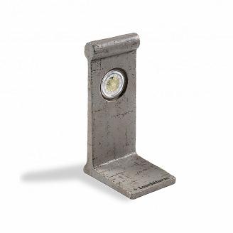 Leuchtturm Berliner Mauer-Element mit Kapsel für 1X 2-Euro-Geden