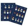 Leuchtturm Münzblätter VISTA für 23 europ. 2€-Gedenkmünzen 30 Ja