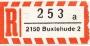 R-Zettel Sammlung PLZ 1-4 ca. 7.000 verschiedene R-Zettel 4-stel