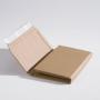 Wellpapp-Buchverpackung B 2, mit Aufreißband und 3 Klebestreifen