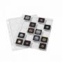 Leuchtturm Kunststofftafeln SNAP für 20 QUADRUM-Münzkapseln per