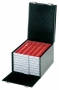 Lindner Boxen-Koffer Compact 255x330x225mm inklusiv 8 Münzboxen