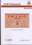 DDR-Philatelie Rundbrief Heft 83 1/2020