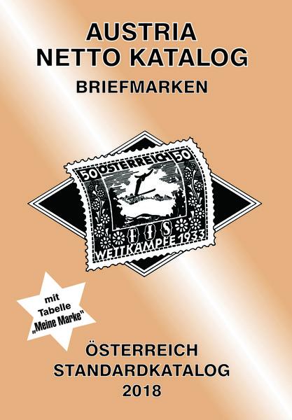 Austria Netto Katalog Briefmarken Österreich Standardkatalog 201