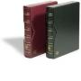 Leuchtturm Binder und Schutzkassette VARIO-Classic bordeauxrot N