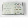 Leuchtturm BASIC Einsteckbuch 64 weiße A4 Seiten schwarz Nr. 325
