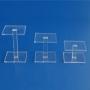 Safe Acryl Vierkant-Säulen 3er-Set Nr. 5229