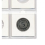 Safe Münzrähmchen 50x50mm Nr. 7828M selbstklebend aus Karton für