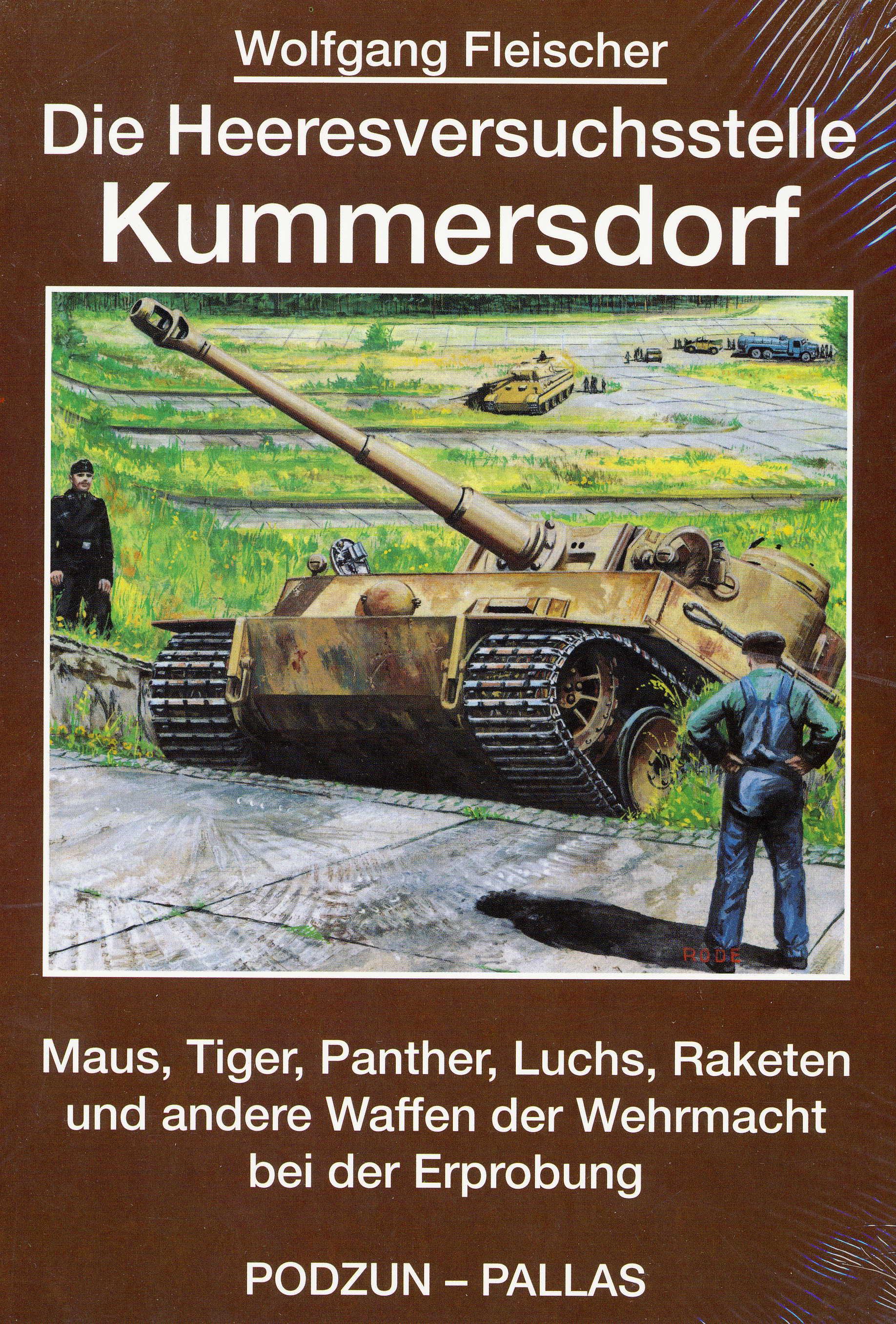 Fleischer, Wolfgang Heeresversuchsstelle Kummersdorf Band 1: Mau