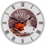 Wanduhr Coffee Time Ø 50cm Nr. 74103