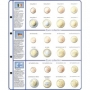 Lindner Vordruckblatt €-Collection KMS Belgien/Deutschland/Finnl