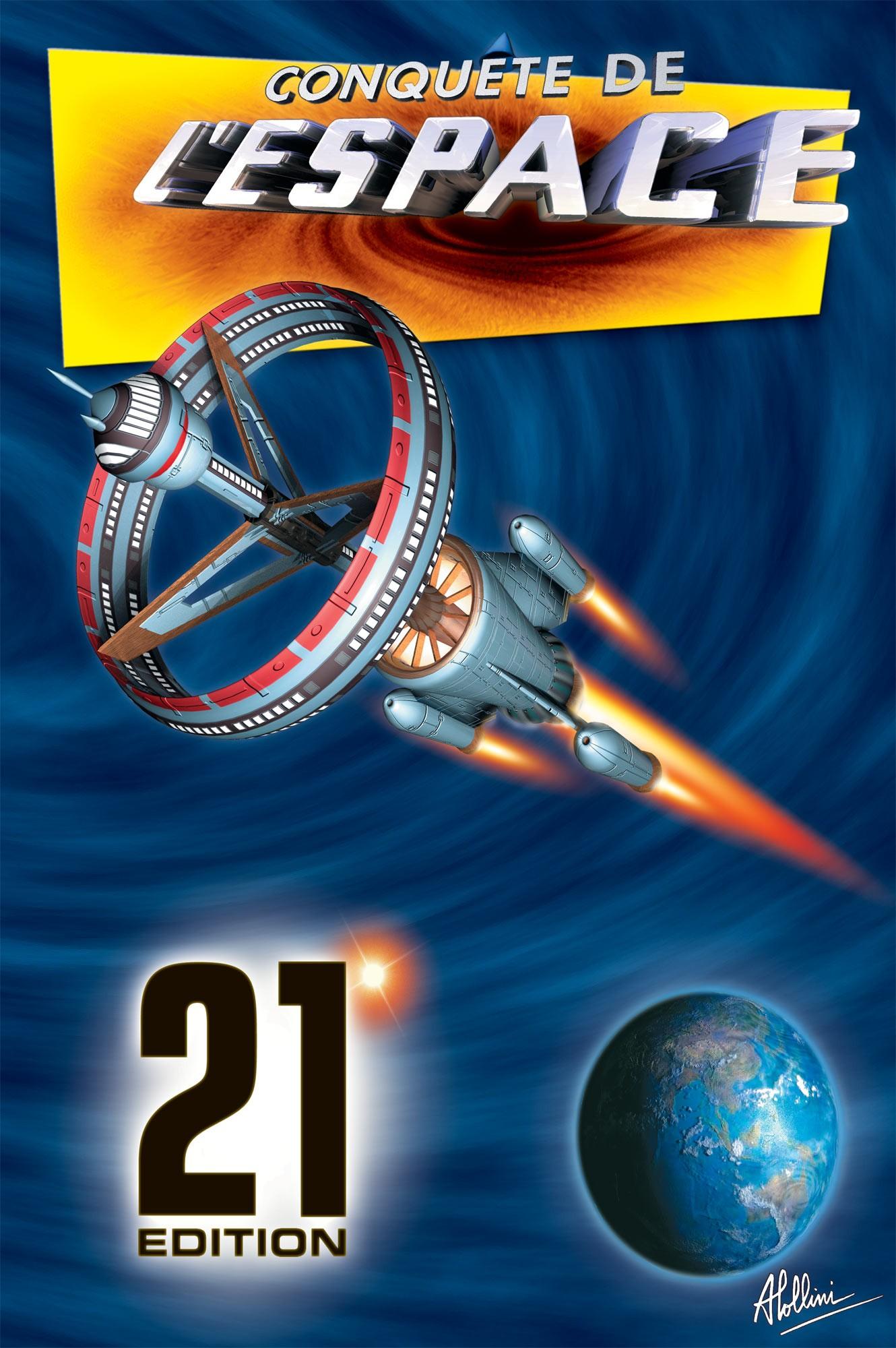 Lollini Motiv-Weltkatalog Raumfahrt auf Briefmarken/Conquete de