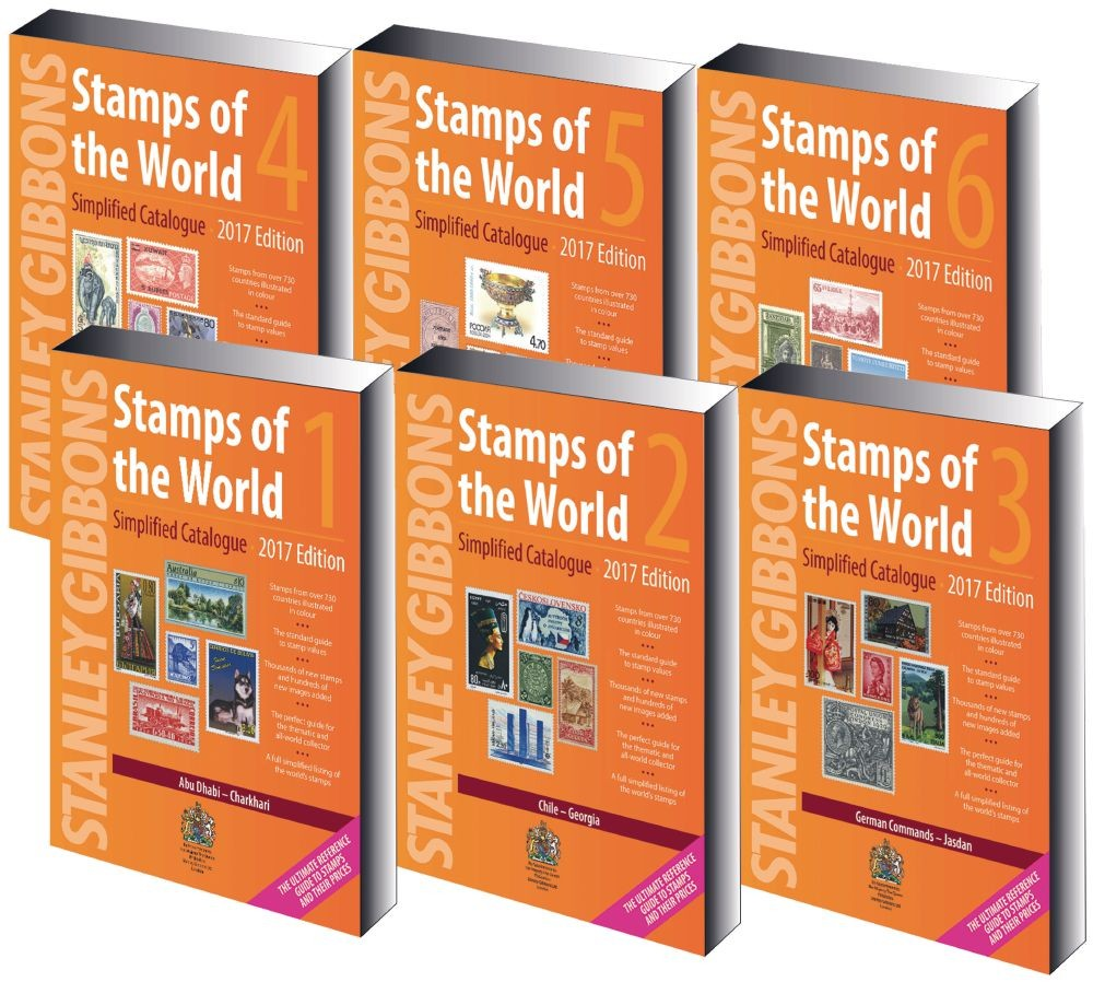 Gibbons Stamps of the World Simplified Catalogues 2017