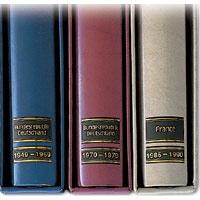 Signetten-Jahreszahlen 1850-1854