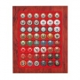 Lindner CHASSIS inkl. Champagnerkapsel-Box Nr. 2485BF Rosenholz