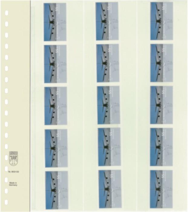 Lindner T-Blanko Blätter 802122P per 10 Stück