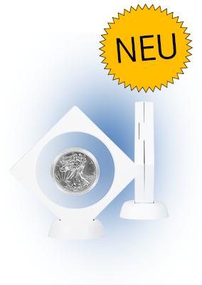 Objektrahmen NIMBUS NEMO weiß mit rundem Ausschnitt Ø 75mm Nr. 4