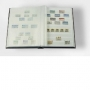 Leuchtturm BASIC Einsteckbuch 32 weiße A4 S. blau 331235 unwatti