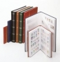Lindner Einsteckbuch 64 S. weiß, geteilt, A4 Nr. 1167 rot