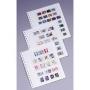 KABE Blankoblätter mit fünf Streifen 301857/ORION5 per 5 Stück