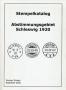 Gruber, Gunnar Stempelkatalog Abstimmungsgebiet Schleswig 1920