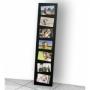 Holz-Bilderrahmen schwarz für 7 Fotos im Format 10x15cm Nr. 4051