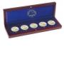 Leuchtturm Holz-Münzetui 312826/HMETUI2EUROM für 5x2€-Gedenkmünz