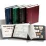 5x A4-Einsteckbuch, 64 schwarze Seiten sortierte Farben