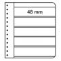 Leuchtturm G-Tafeln, 5er Einteilung, schwarz 328684/G5S